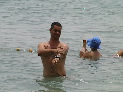 Men and Women Recognize the Value of a dip in the Dead Sea!