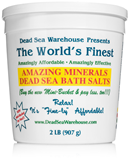 Dead Sea Warehouse Amazing Minerals Bath Salts