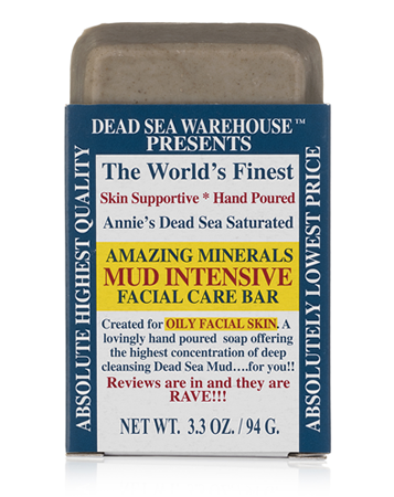 Dead Sea Warehouse Amazing Minerals Mud Intensive Facial Care Bar